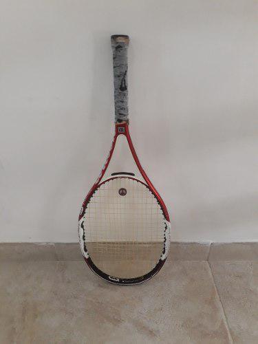 Raqueta tenis wilson ncode fury 2 100 medida nº4