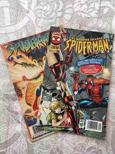 Revista, cómics, suplemento de spiderman. el hombre
