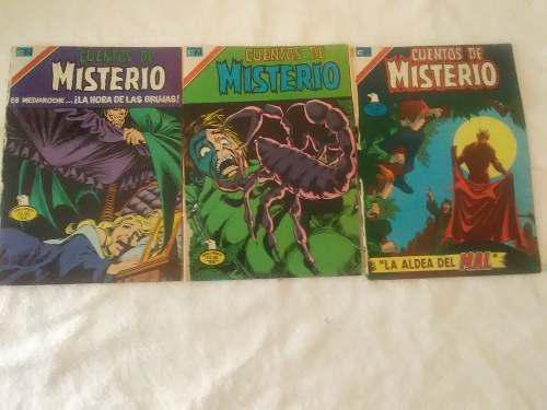 Triple comic de misterio