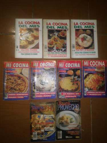 9 mini revistas cocina coleccion buen provecho