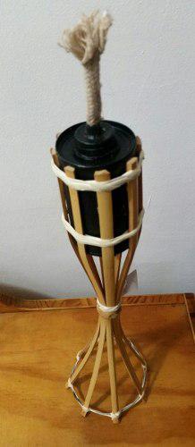 Antorcha De Bambú