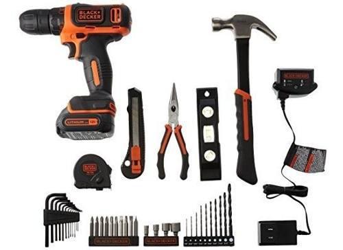 Black decker kit herramienta para taladro hogar 12 5