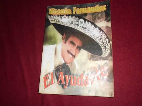 Cancionero Vicente Fernandez El Ayudante Usado