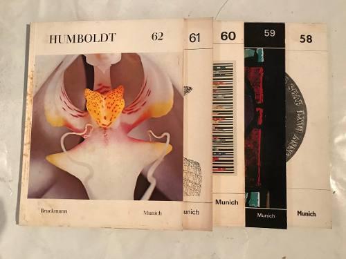 Colección revista humboldt (tomos 58, 59, 60, 61 y 62)