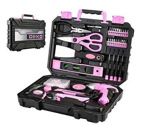 Deko kit herramienta para hogar estuche plastico