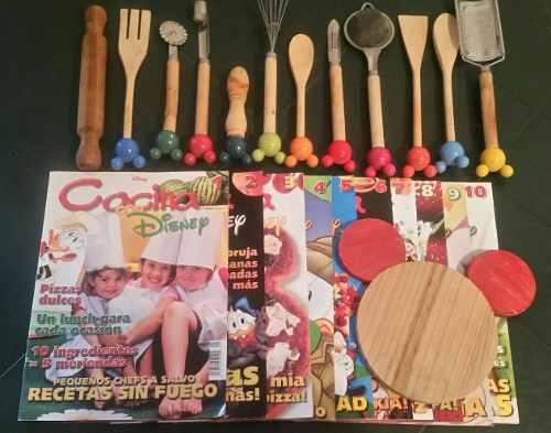 Disney cocina coleccion completa revistas vintage