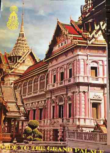 Guía Del Gran Palacio, Bangkok Tailandia, Folleto