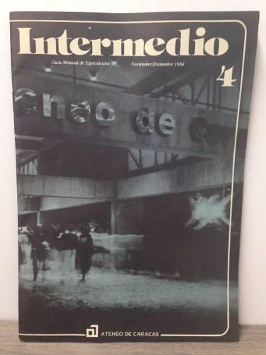 Guía Mensual Espectáculos Intermedio Ateneo De Caracas