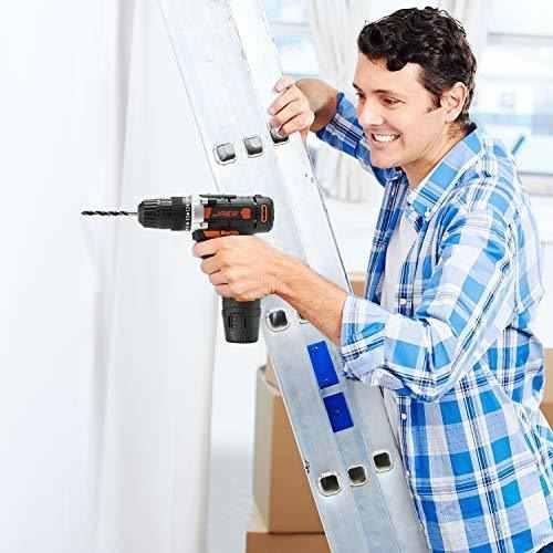 Jaer taladro inalambrico kit herramienta para hogar