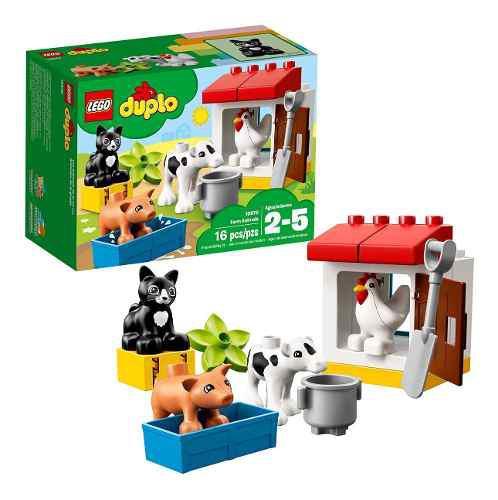 Lego 10870 duplo granja de animales juguete pre-escolar