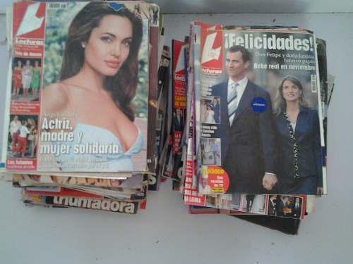 Lote de 60 revistas hola lectura bazaar 40 vrds