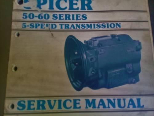 Manual De Servicio 30 Dana Spicer Caja Velocidades