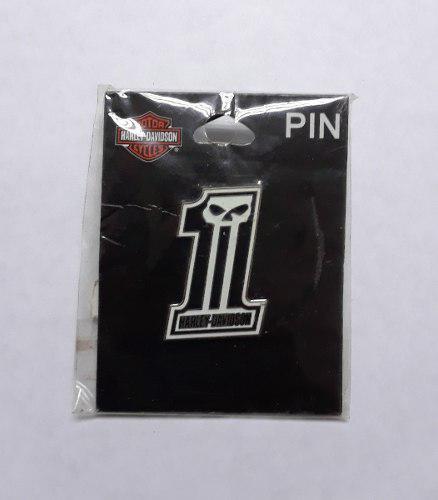 Pin, boton de metal original harley davidson