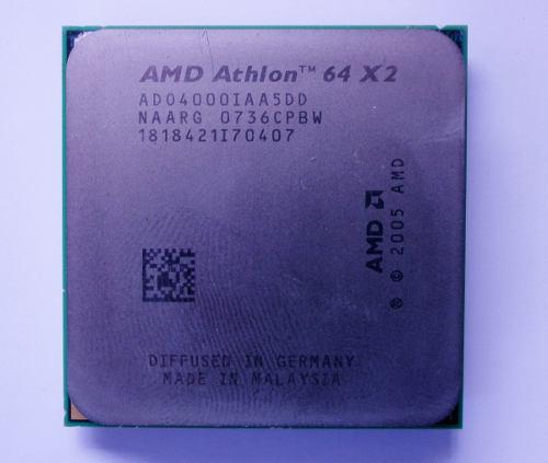 Procesador amd athlon 64 x2 4000+ 2.1ghz am2 ad04000iaa5dd