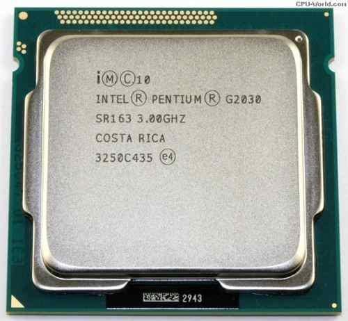 Procesador intel g2030 3.0 ghz sr163 3m cache 3ra