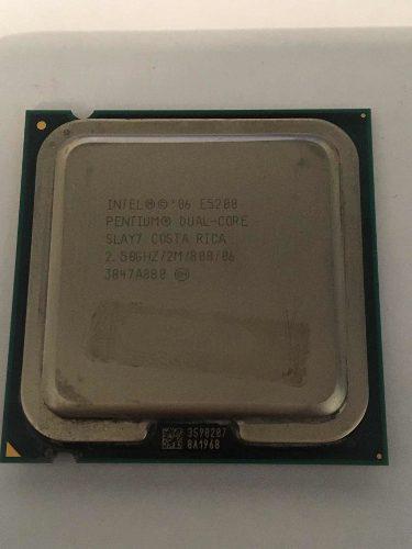 Procesador intel® pentium® e5200 dual core, 2,50 ghz
