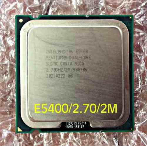 Procesador Pentium Dual Core E5400 2.70ghz 5vrd