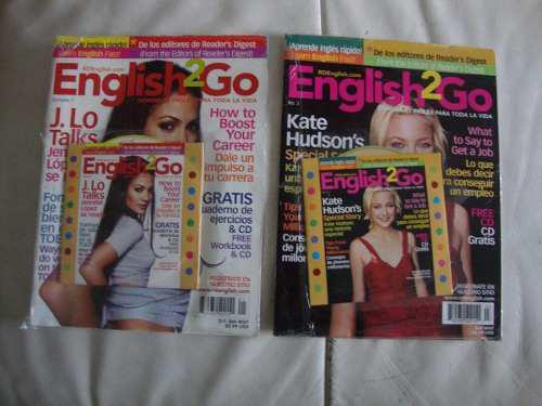 Revista de ingles 2 go con cd