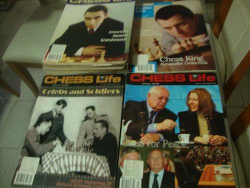 Revistas de ajedrez chess life