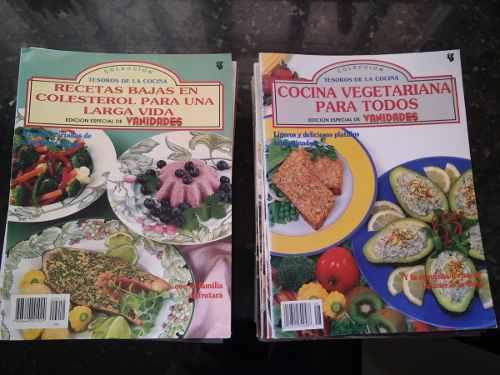 Revistas tesoros de la cocina colección{on