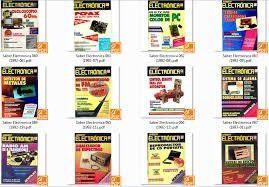 Saber electrónica 11 revistas en hoja barato y original