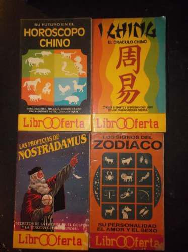 4 libros profecias y horoscopo, leer 2 verdes