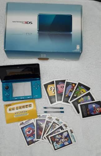 Nintendo 3ds Con Todos Sus Implementos