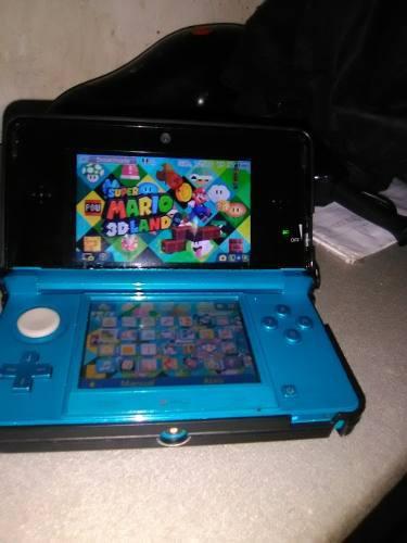 Nintendo 3dsi Con Asesorios Y 5 Juegos Buenos 3d (50v)
