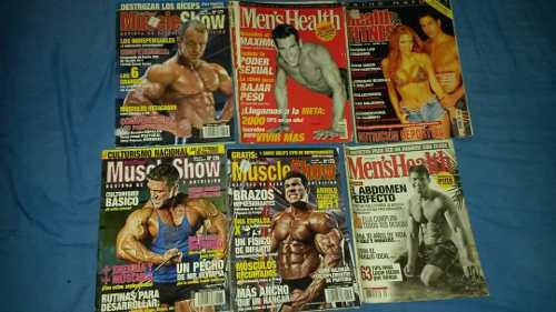 Remato 6 revistas de culturismo muscle show y heatl, 4 verde