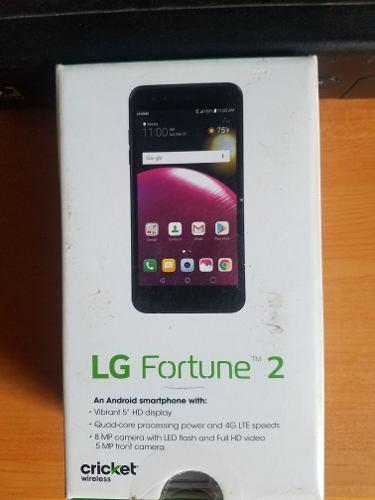 Telefono android lg fortuna 2 nuevo sin liberado
