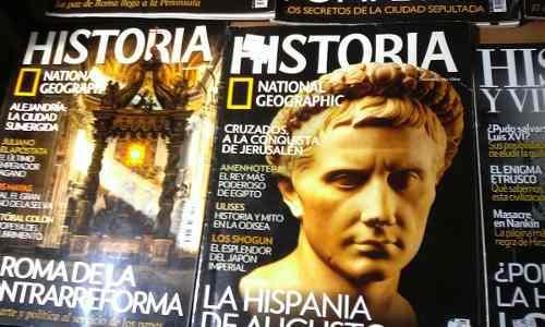 Colección de revistas national geografic