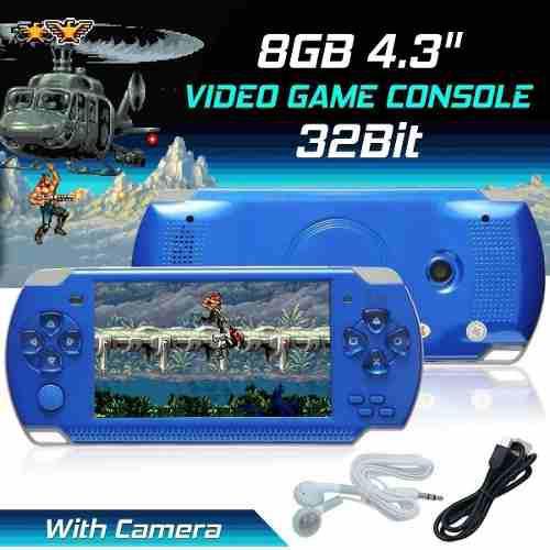 Consola video juegos nintendo psp 1000 juegos 8gb rt101