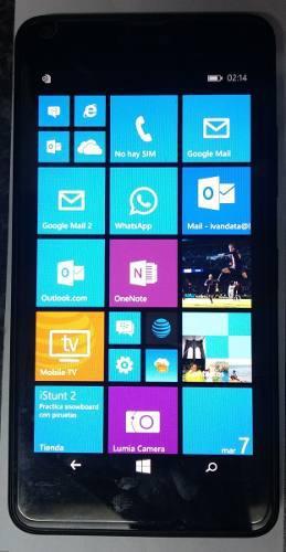 Liberado microsoft nokia lumia 640 lte 8gb 5