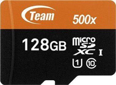 Memoria micro sd team group 128gb clase 10 adaptador celular