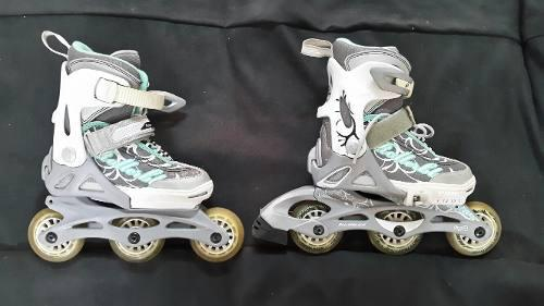 Patines lineales rollerblade talla adaptable desde 28 a 32