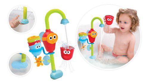 Bañera regadera juguete bebe y niño importado (verdes 14)