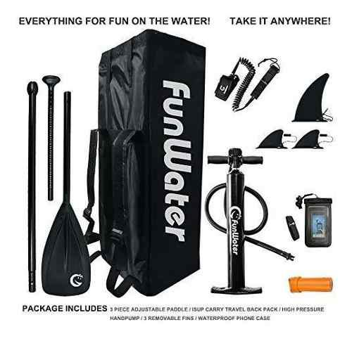 Funwater inflatable '×× ultra light lbs sup for all