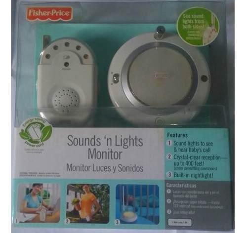Radio monitor de bebe, fisher price