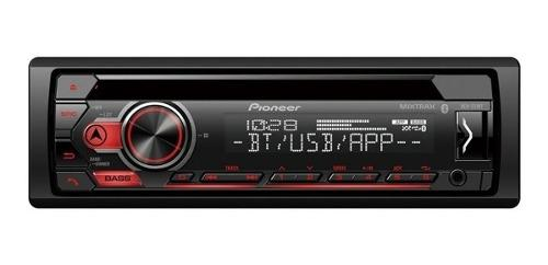 Radio reproductor 1 din pioneer deh-s31bt bluetooth usb 70d