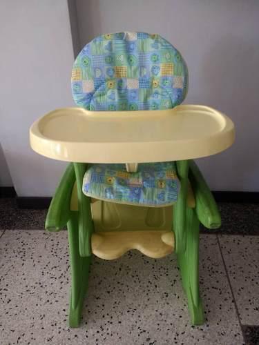 Silla de bebé para comer convertible en mesa y silla