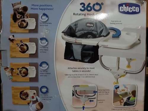 Silla de comer chicco 360