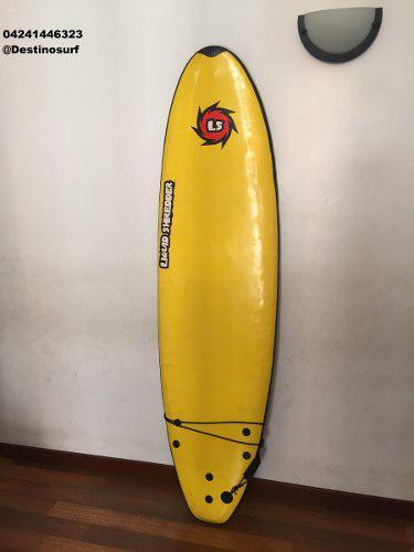 Tabla de surf softboard liquid schredder 6,4 tipo funboard