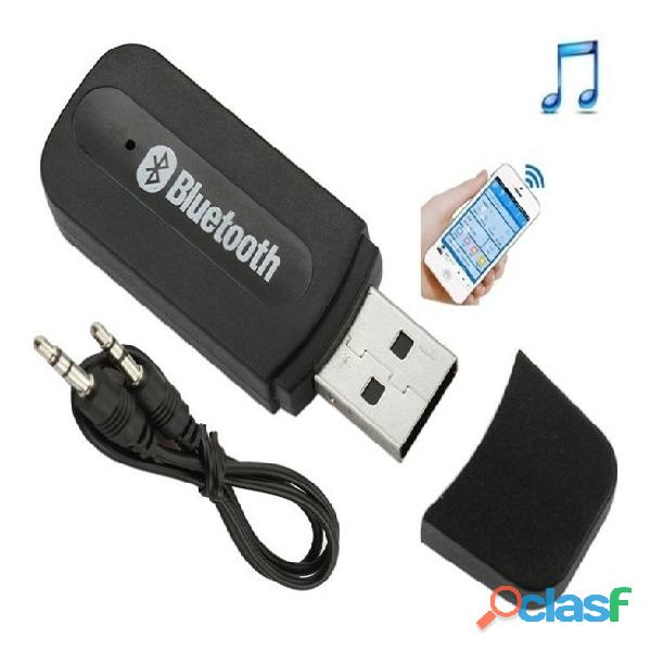 Receptor adaptador audio bluetooth usb 3.5mm auxiliar