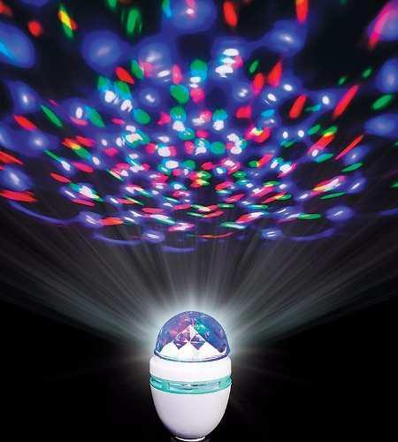 Bombillo led multicolor giratorio discoteca fiestas ofertax2