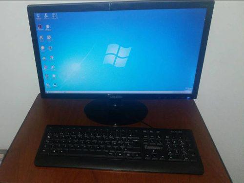 Pc siragon 1600 monitor samsung y teclado