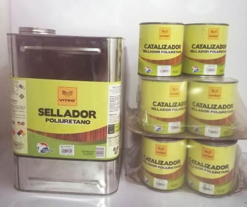 Sellador poliuretano cuñete quimidal vitro +10