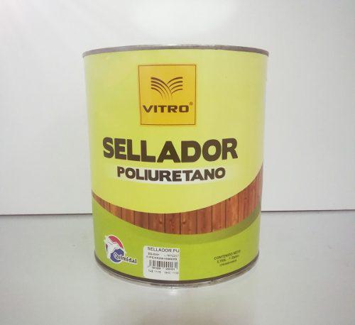 Sellador poliuretano galon quimidal vitro +2catalizadores sv