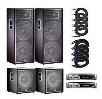 Sistema sonido profesional campañas de 250 o 750 personas