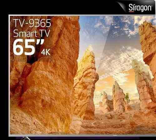 Smart tv síragon 65 pulgadas 4k uhd/ 870