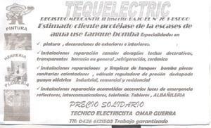 Tequelectric solucion técnico de mantenimiento solución de